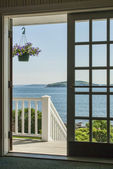 Frenchmans Bucht in Bar Harbor, maine — Stockfoto