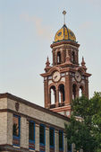 Bell Tower in Plaza District of Kansas City Missouri — Stock Photo