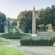 Garden at Palazzo Pitti - Stock Photo