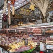Foto Stock: Meat Market in Florence Italy