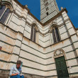 Duomo in Siena Italy — Stock Photo