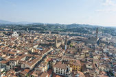 View from top of Duomo — Stock Photo