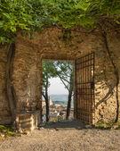 Gate In San Gimignano — Stock Photo