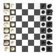 Stock Photo: Chess Set and Board