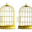 Stock Photo: Bird Cage