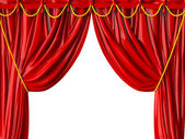 Realistic Theater Curtain — Stock Photo