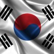 Wavy Flag of South Korea — Stock Photo #30415177
