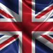 Wavy Flag of United Kingdom — Stock Photo