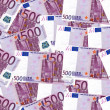 Euro Bank Notes Background — Stock Photo