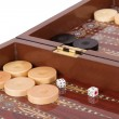 Backgammon — Foto Stock