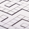 Blank Crossword Puzzle — Stock Photo #30465751