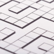 Stock Photo: Blank Crossword Puzzle