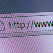 Stock Photo: World Wide Web in Address Bar