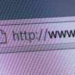 World Wide Web in Address Bar — Stock Photo