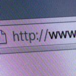 World Wide Web in Address Bar — Stock Photo