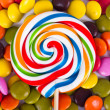 Lollipop Candy on Stick — Stock Photo #34436707