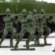Stock Photo: Miniature Toy Soldiers and Tank