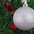 Christmas Ball Ornament — Stock Photo