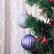Christmas Ornaments on Tree — Stock Photo #37166757