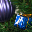 Christmas Tree with Gift Box — Stock Photo #37167067