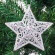 Christmas Tree with Star Ornament — Stock Photo #37167255