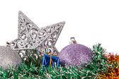 Objetos de decoración de navidad — Foto de Stock