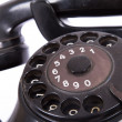 Rotary Dial of Vintage Phone — Stock Photo