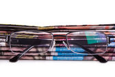 Newspapers and Eye Glasses — Stock Photo