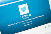 Twitter Account — Stock Photo