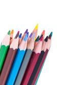 Färgglada pennor — Stockfoto