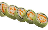 Japanese food, sushi, rolls, — Stock Photo