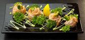 Japanisches Essen, ein schönes Gericht, Gemüse, Vitamine — Stockfoto
