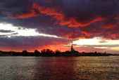 St. Petersburg, Peter and Paul Fortress, Russia — Stockfoto