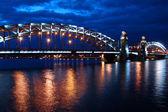 San petersburgo, puente — Foto de Stock