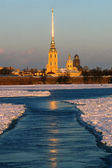 St. Petersburg, Peter and Paul Fortress, Russia — Stock fotografie