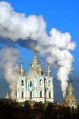 St. Petersburg, Smolny Cathedral — Stock Photo
