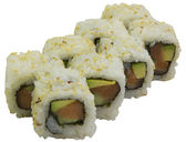 Sushi, rolls, Japanese food, — Stock fotografie