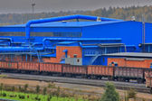 Railway transportation, — Stock Photo