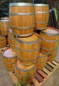 Manufacture and production of barrels — Foto Stock