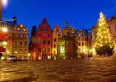 Paisaje urbano de estocolmo, suecia — Foto de Stock