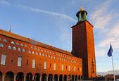 Stockholm, Švédsko, panoráma — Stock fotografie