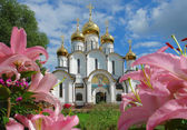 Church, Russian, temples, — Stock Photo