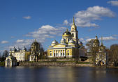 City Ostashkov, Russia — Stock Photo