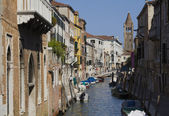 Italy, Venice, the city on the water, — Stock Photo