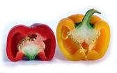 Vegetables, fruit, macro — Stock Photo