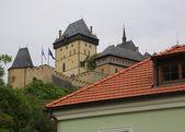 Czech Republic, Karlstejn castle — Stock Photo