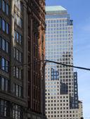 New York, Manhattan, skyscrapers, — Stock Photo