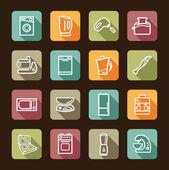 Kitchen home appliances — Stock Vector