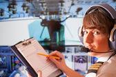 Havayolu pilot — Stok fotoğraf