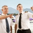 Airline pilots — Stock Photo